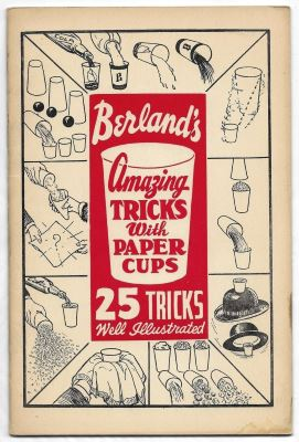 Berland: Amazing Tricks With Paper Cups