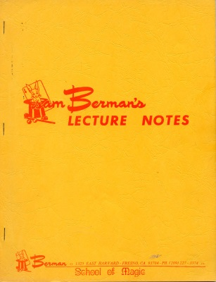 Sam Berman's Lecture