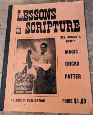 Donald Bodley: Lessons In Scripture