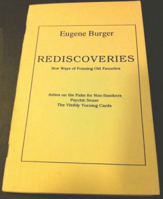 Burger: Rediscoveries