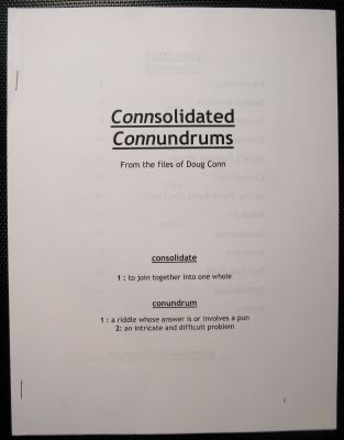 Connsolidated Connundrums