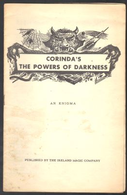 Corinda The Powers of Darkness