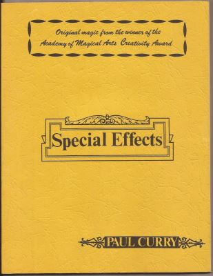 Paul Curry: Special Effects