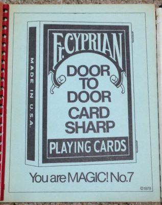Father Cyprian: You Are Magic No. 7 Door to Door Card