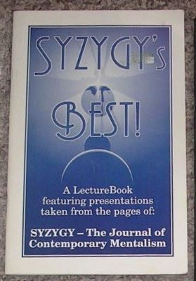 Earle: Syzygy'z Best