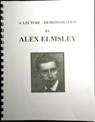 Elmsley Lecture